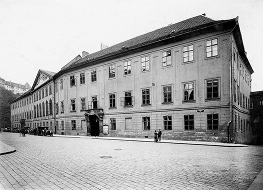 Thunovský palác 1918