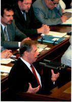 Václav Havel v PS, 16. kv�tna 2000