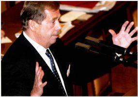 Václav Havel v PS, 9. �íjna 2002
