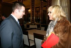 Jan Hamáček se setkal s bavorskou ministryní Beate Merk (7. 1. 2016)