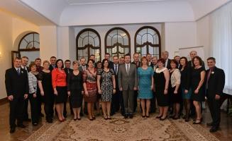 Starostové vítězných obcí ze soutěže Vesnice roku ve Sněmovně (20.01.2016)