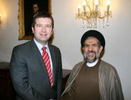 Jan Hamáček přijal místopředsedu íránského parlamentu (22. 1. 2016)
