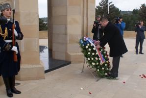 Delegace Poslanecké sněmovny zahájila návštěvu Ázerbajdžánu (14. 3. 2016)