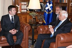 Předseda Sněmovny navštívil Řecko (25. 11. 2016)
