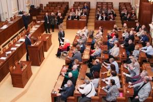 Beseda Radka Vondráčka s členy Senior parlamentu (11. 3. 2019)