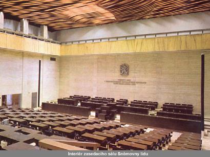 Federální shromáždění - interiér