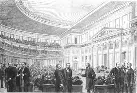 Poslanecká sněmovna - interiér
